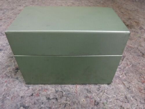 Vintage J. Chein Recipe Box