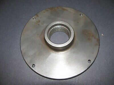 Atlas Craftsman Lathe 6 Backing Plate For A Chuck 111.21390 1 12-8 Mount