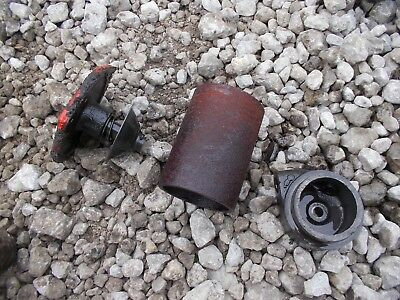 Case 830 Diesel Rowcrop Tractor Pto Power Take Off Bottom Screen Holder Caps