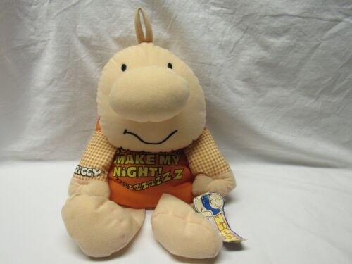 "ZIGGY HANG TAG BEANBAG DOLL ""GO AHEAD AND MAKE MY NIGHT"" 1998 KELLYTOY 16"""