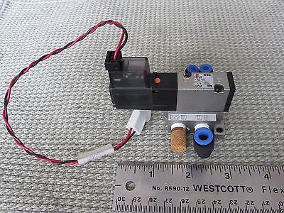 Lot Smc Pneumatic 24vdc Electric Solenoid Valve Vz3143 5lz Push Fittings Muffler