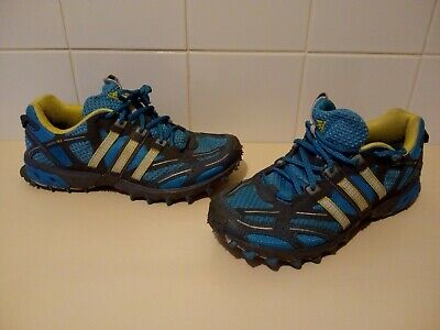 Adidas-Kanadia TR 3-Ladies Trainers-Size 6.5 UK-Trail Running Shoes-Women's-Blue