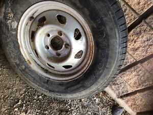 Chevy 5 bolt new spare tire