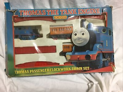 Thomas the Tank Engine Hornby Thomas Passenger Clockwork Train Set 1990
