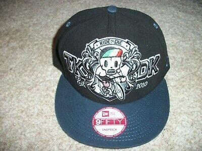 GIRO D'ITALIA New NWT Mens Hat Cap Snapback Adjustable Black Tokidoki