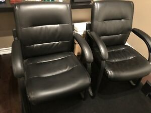 FAUX LEATHER OFFICE CHAIRS