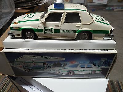 1993 Hess Truck Patrol Car Original Box Vintage