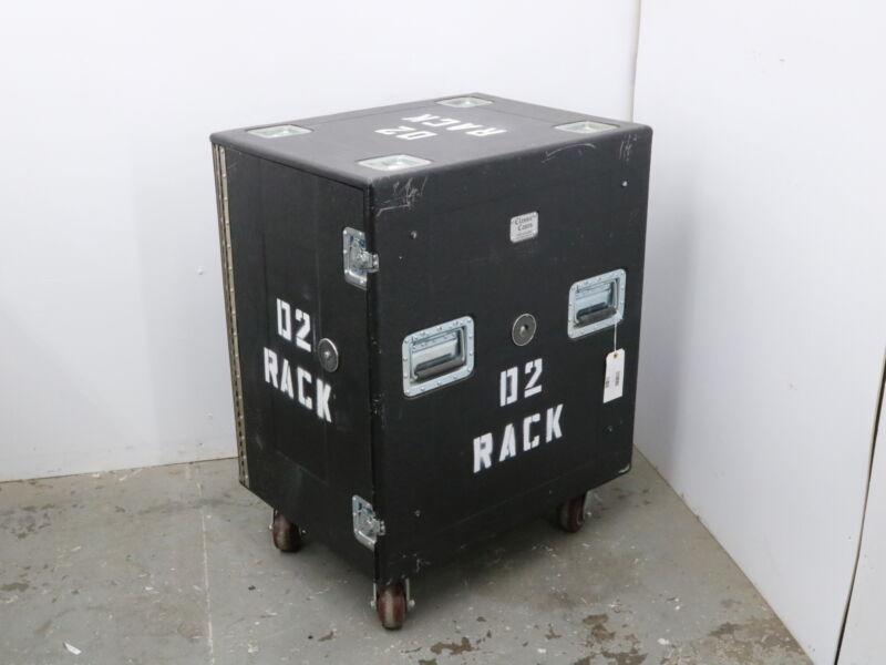 Classic Case 16 Space Shock mount Rack Road Case Heavy Duty