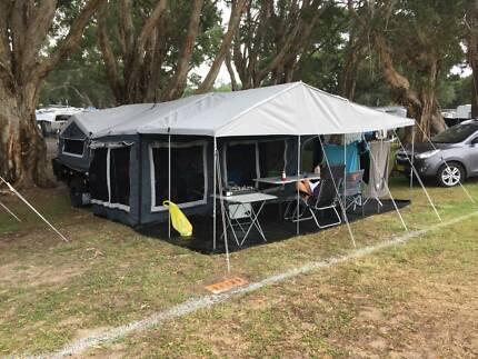 Camper trailer - Black Series Sergeant Adamstown Newcastle Area Preview
