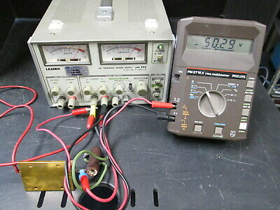 Triple Output Lab Power Supply With Tracking Tested - 25v 0-6v 5a Lps-152