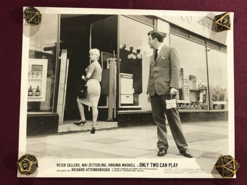 ONLY TWO CAN PLAY ORIGINAL MOVIE PHOTO STILL 1962 PETER SELLERS  PINK PANTHER 2