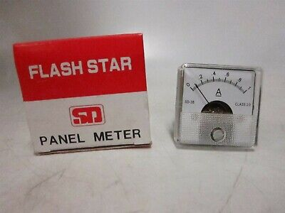Sd380-1a Analogue Panel Meter Moving Coil Type Left Zero Hand Dc Current Sd-38