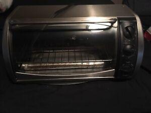 """Black & Decker countertop oven, fits a 12"""" pizza"""