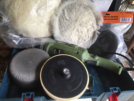 Variable speed polisher and extras