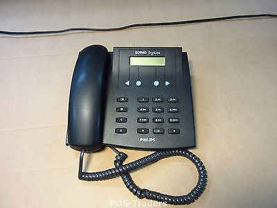 Philips ISDN Sopho Ergoline E320-4w INT ISDN Telefon Black Telephone