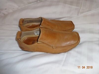 Men's Rushu Brown Leather Casual Shoe Size 9 (43)