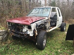 1992 Toyota parts truck only mint frame