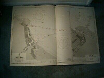 Vintage Admiralty Chart 1751 PUERTO DE BUENOS AIRES, ETC 1935 edn