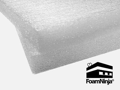 Polyethylene Foam Sheet - 2x16x16 - 4 Pack - Charcoal White - Density 1.7 Pcf
