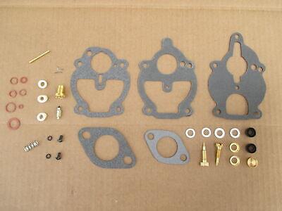 Carburetor Rebuild Kit For Ih International Industrial 2404 2424 500 T-340