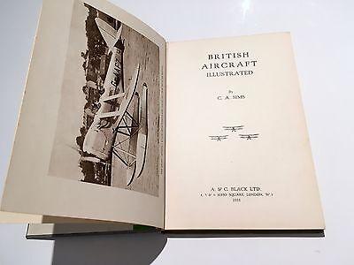 BRITISH AIRCRAFT ILLUSTRATED 1931 R100 AIRSHIP DE HAVILLAND AVRO VICKERS SUPERMA