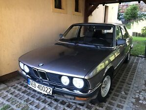 1986 Classic BMW 524td for sale like New shape one owner