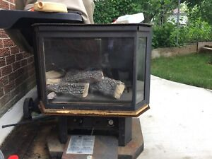 Gas fireplace cheap only $150