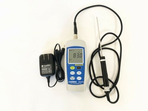OMEGA HH370 Precision RTD PT100 Digital Thermometer. CALIBRATED GUARANTEED