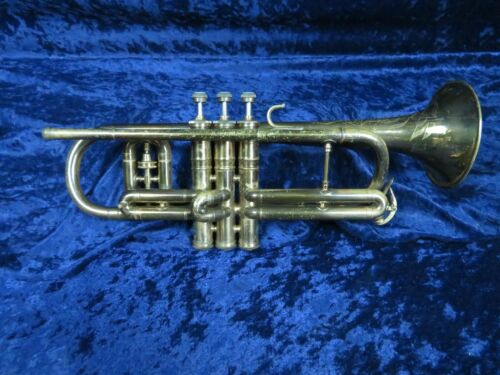 C.G. Conn Victor 80A Cornet Ser#370445 Beautiful Look and Sound!