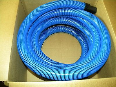 "Carpet Cleaning 25ft Extractor Vacuum Hose W/ 1.5"" Wand connector"