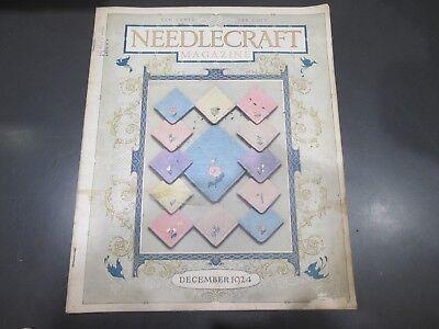 Винтажные Needlecraft Magazine December 1924 Vintage