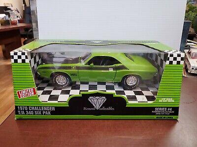 Rare 1970 Dodge Challenger T/A Six Pak 1:18 American Muscle ERTL DieCast NOS
