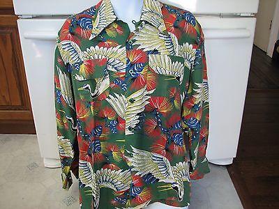 1940s 1950s Palomino of California rockabilly western Hawaiian vintage shirt