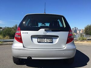 2007 Mercedes-Benz A170 Hatchback Crows Nest North Sydney Area Preview
