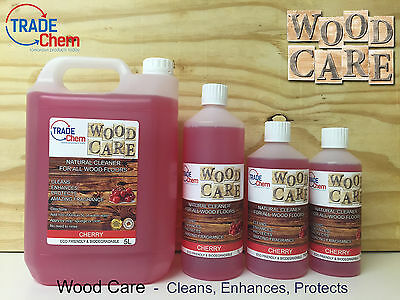 Wood Care - Natural Cleaner & Protector for Wood Floors and Laminate - Cherry
