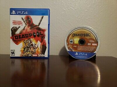Deadpool (Sony PlayStation 4, 2015) Ps4 CIB FREE FAST SHIPPING