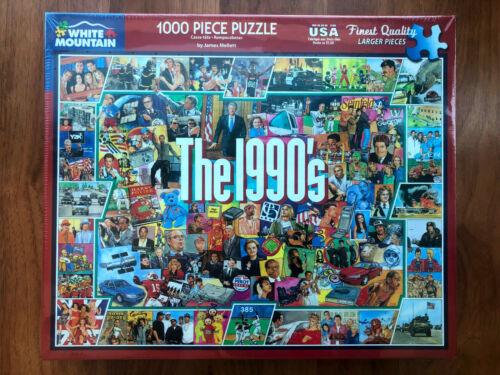 BRAND NEW - White Mountain Puzzles - The 1990