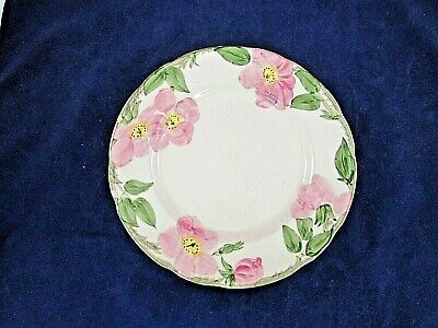 FRANCISCAN DESERT ROSE DINNER PLATE 9 1/2 INCH TV MARK Desert Rose Dinner Plate