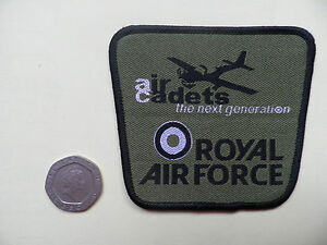 ATC, Air Cadets badge + title.  New.