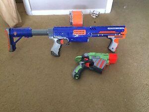 2 nerf guns Bolwarra Maitland Area Preview