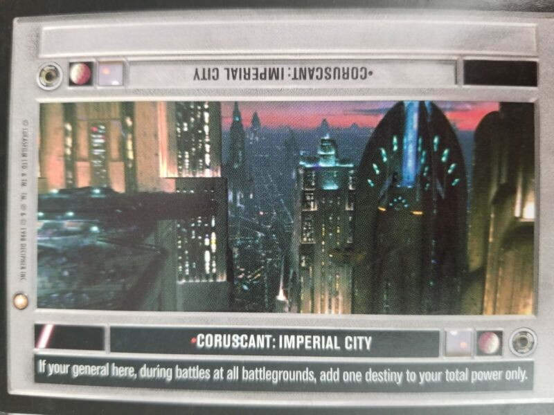 Near Mint//Mint Imperial City SPECIAL EDITION star wars ccg swccg Coruscant