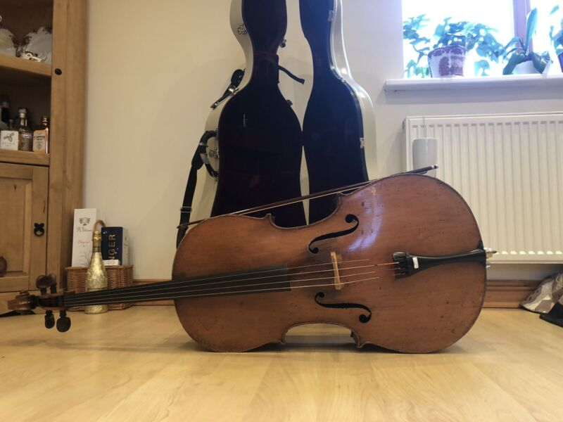 German (Saxon) Cello C.1890