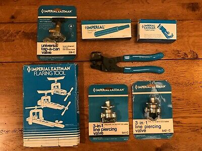 Assortment Of 7 Imperial Refrigeration Air Conditioning Tools