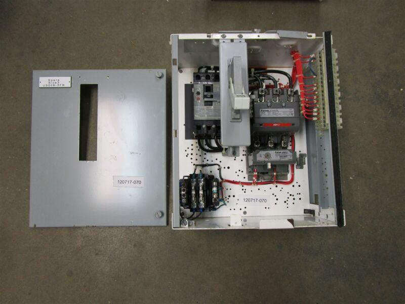 """Siemens Tiastar MCC Bucket Size 3 Starter 14HS+32A 50 amp Breaker 18"""" W/Door"""