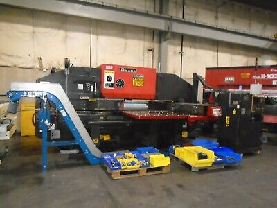 Amada Coma 567 Cnc 50 Ton Turret Punch Press With Tooling