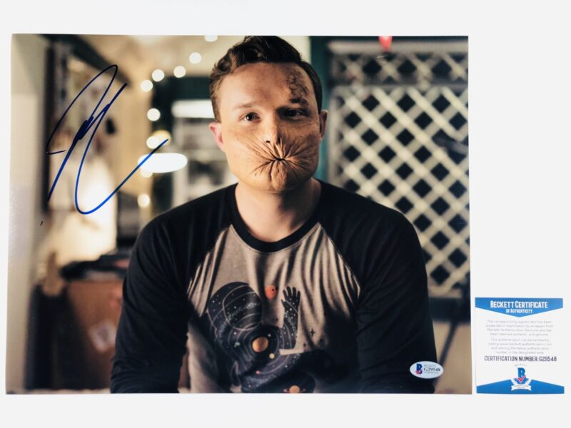 IAN COLLETTI SIGNED ARSEFACE 11x14 PHOTO PREACHER AUTHENTIC BAS COA #G29548