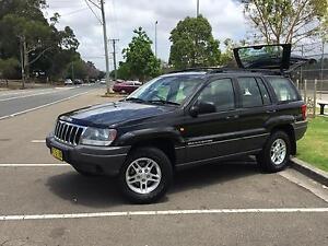 2002 JEEP GRAND CHEROKEE LARADO V8 Oatlands Parramatta Area Preview
