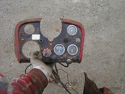 Farmall 560 Lp Propane Tractor Original Ih Ihc Dash Panel Guages Switch