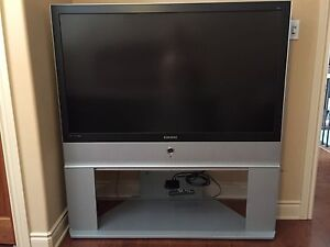 """Samsung 56"""" DLP with stand"""