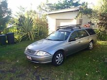 2001 Ford Falcon Wagon with Fitted Mattress & Camping Gear!! Melbourne CBD Melbourne City Preview
